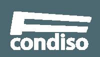 Logo de Frutas Condiso en Blanco